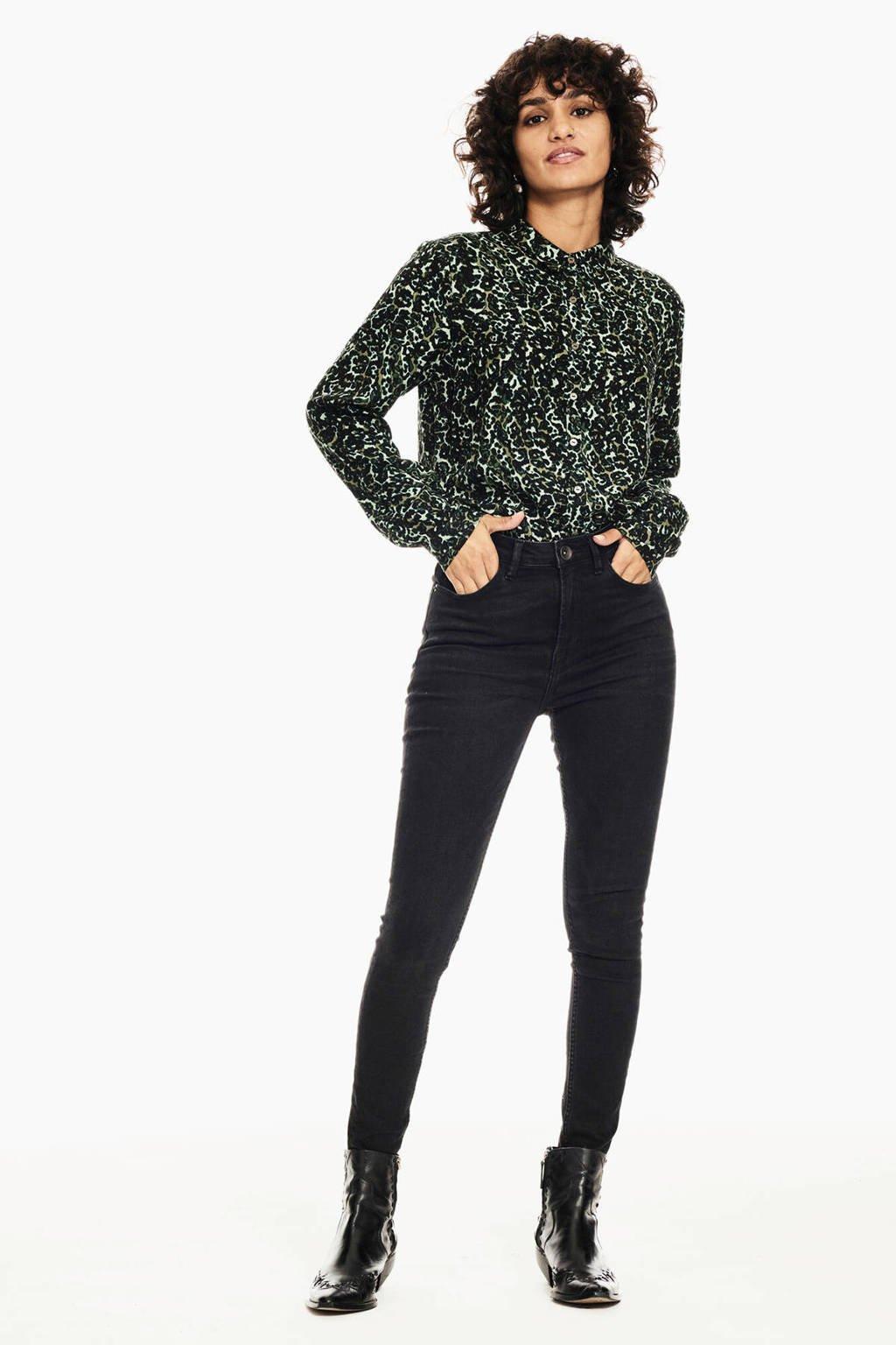 Garcia blouse met all over print pine grove, Pine Grove