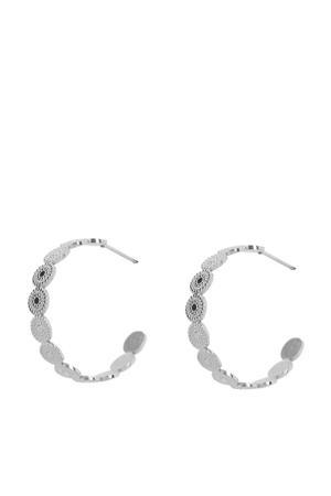 oorbellen zilverkleurig