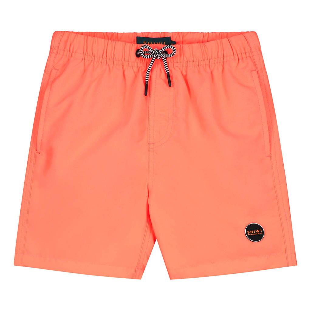 Shiwi zwemshort Mike neon oranje, Neon oranje