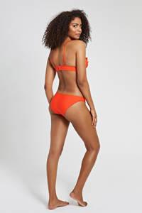 Shiwi bikini Panama Bobby met ruches rood, Rood