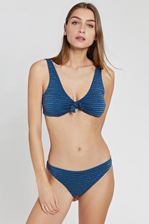 bikinitop Endless Summer donkerblauw/goud