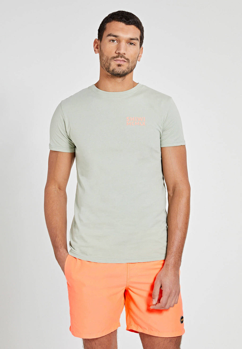 Shiwi zwemshort neon oranje, Neon oranje