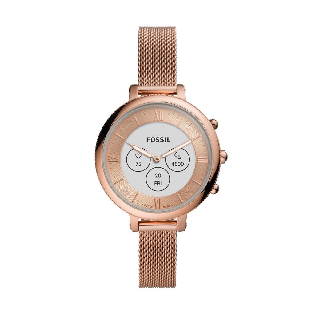 Fossil Monroe Dames Hybrid HR Smartwatch FTW7039, Rosé