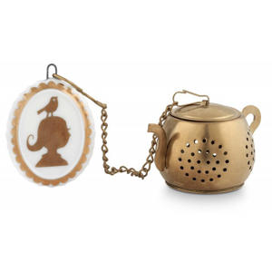Tea Infuser Medaillon Royal White