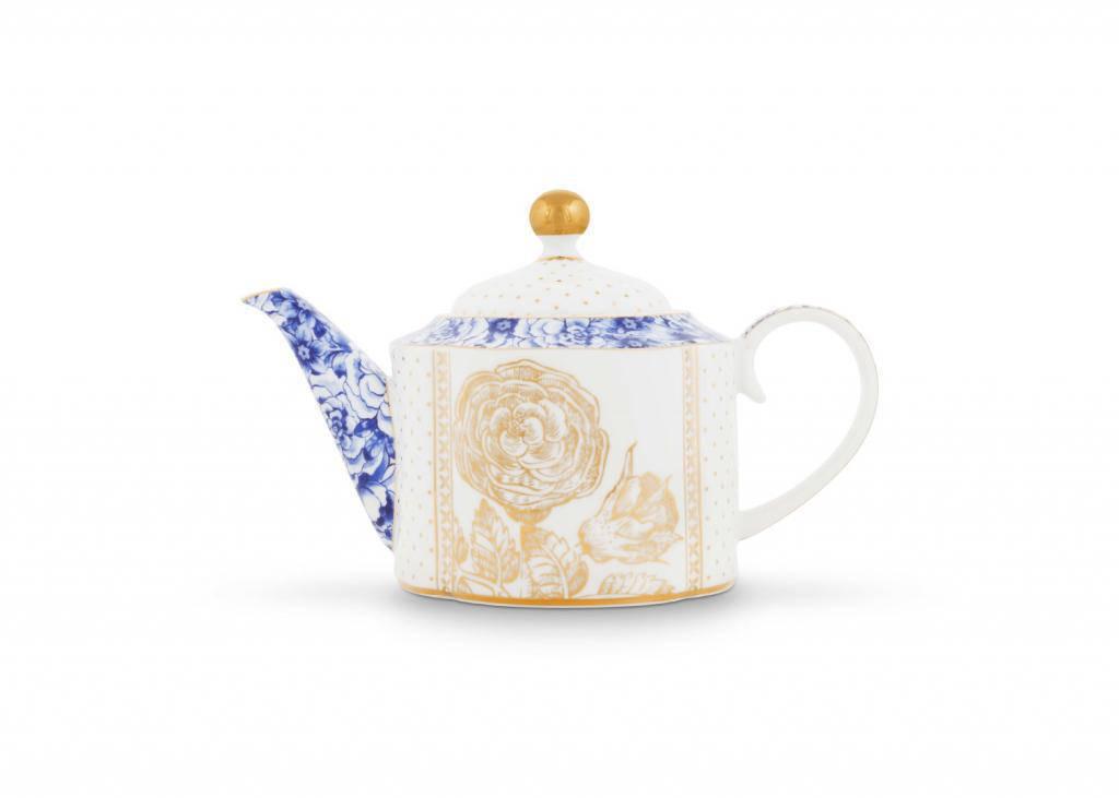 Pip Studio Teapot Small Royal White 900ml