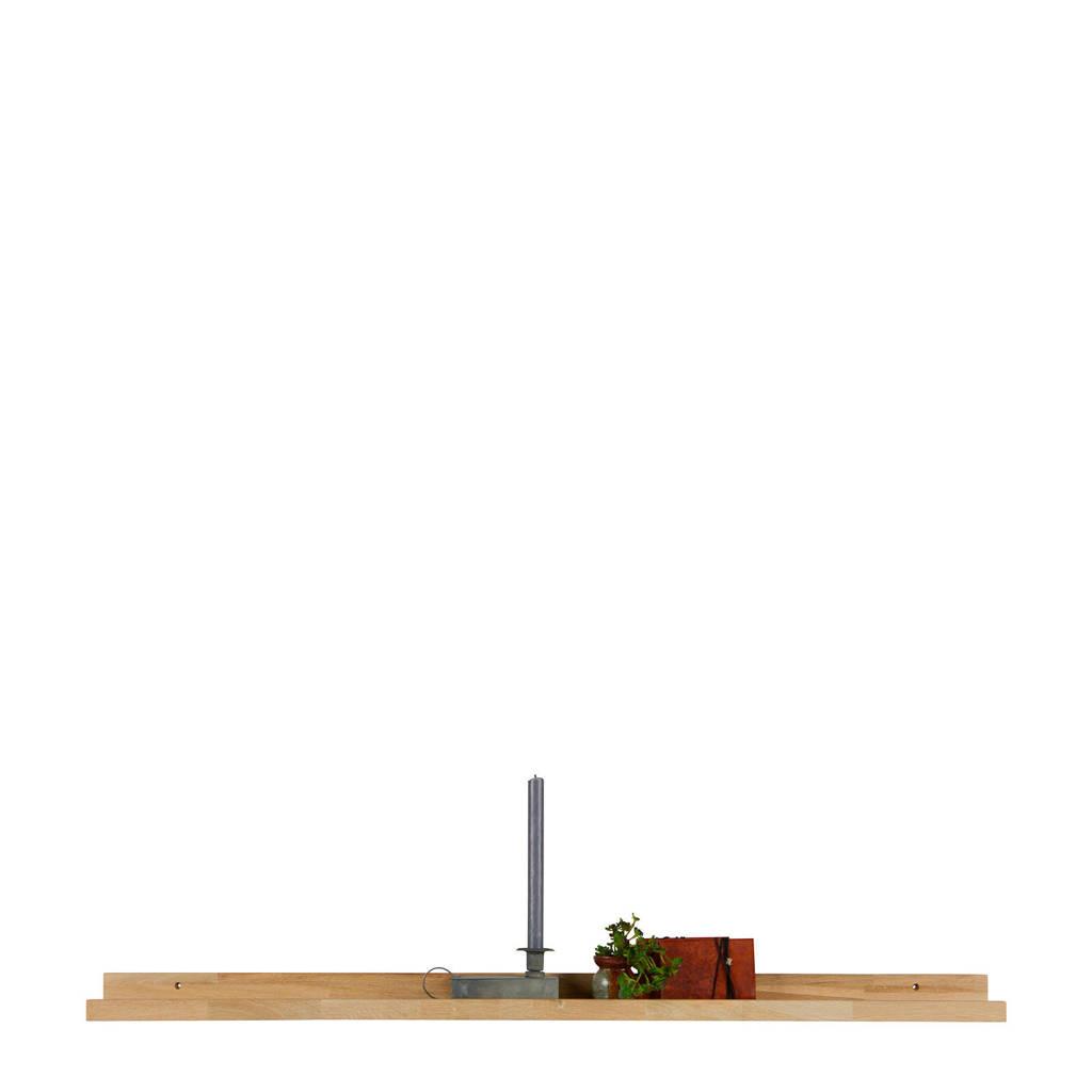 Woood fotolijstplank Studio  (120x10x5 cm), Bruin