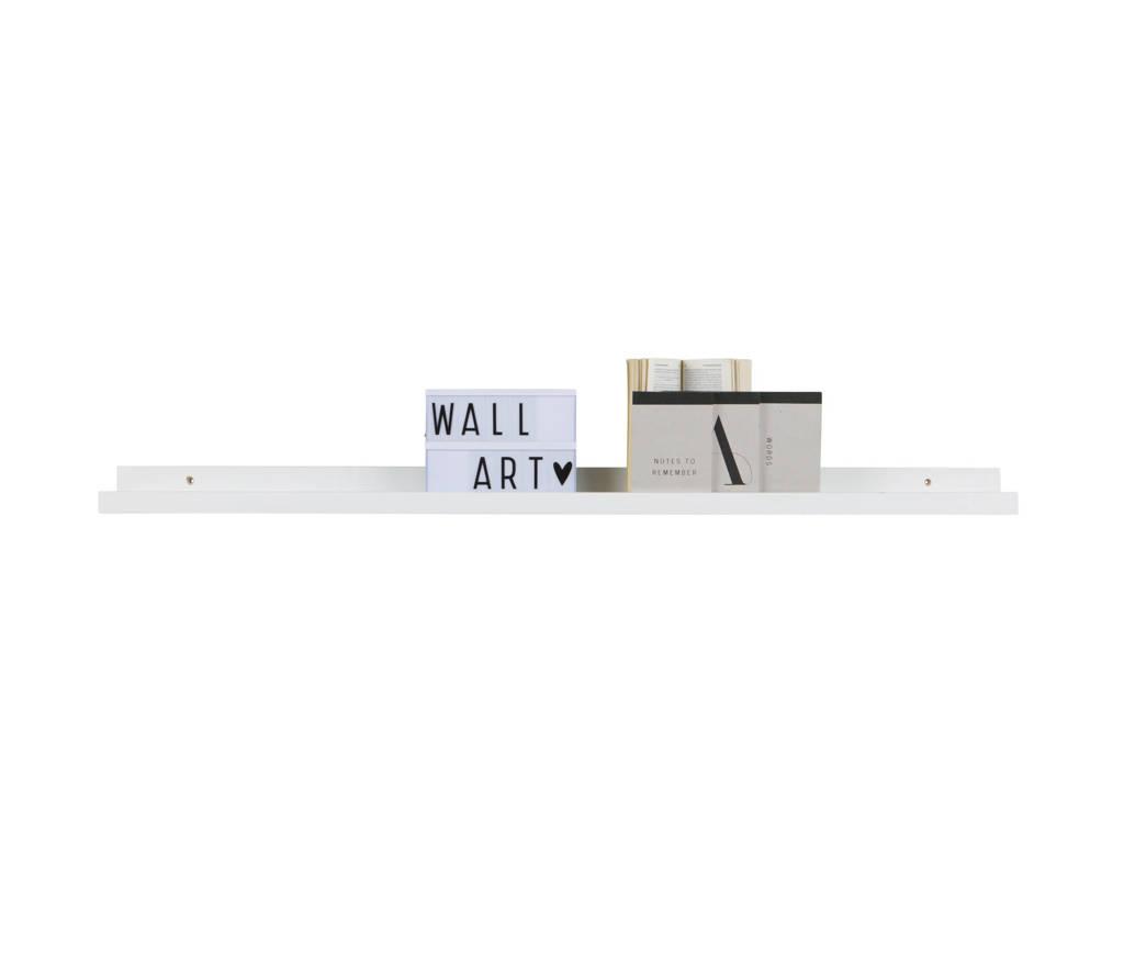 Woood fotolijstplank Studio  (120x10x5 cm), Wit