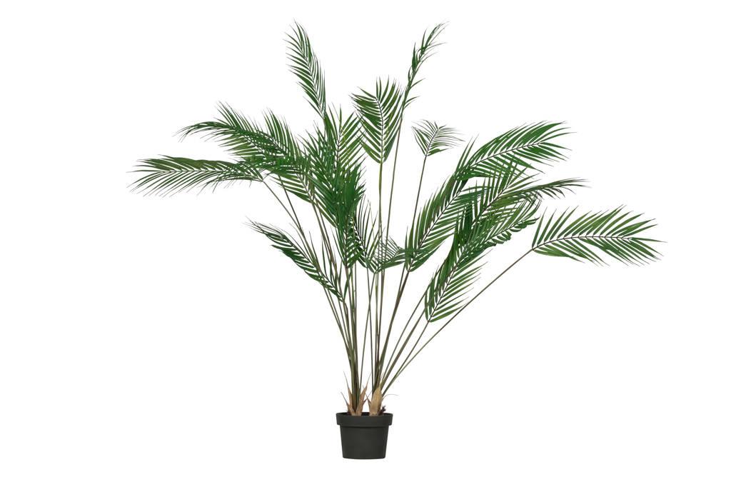 Woood kunstplant Palm, Groen