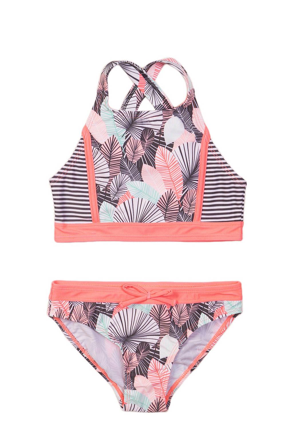DJ Dutchjeans crop bikini Tropic roze, Roze