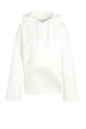 hoodie gebroken wit