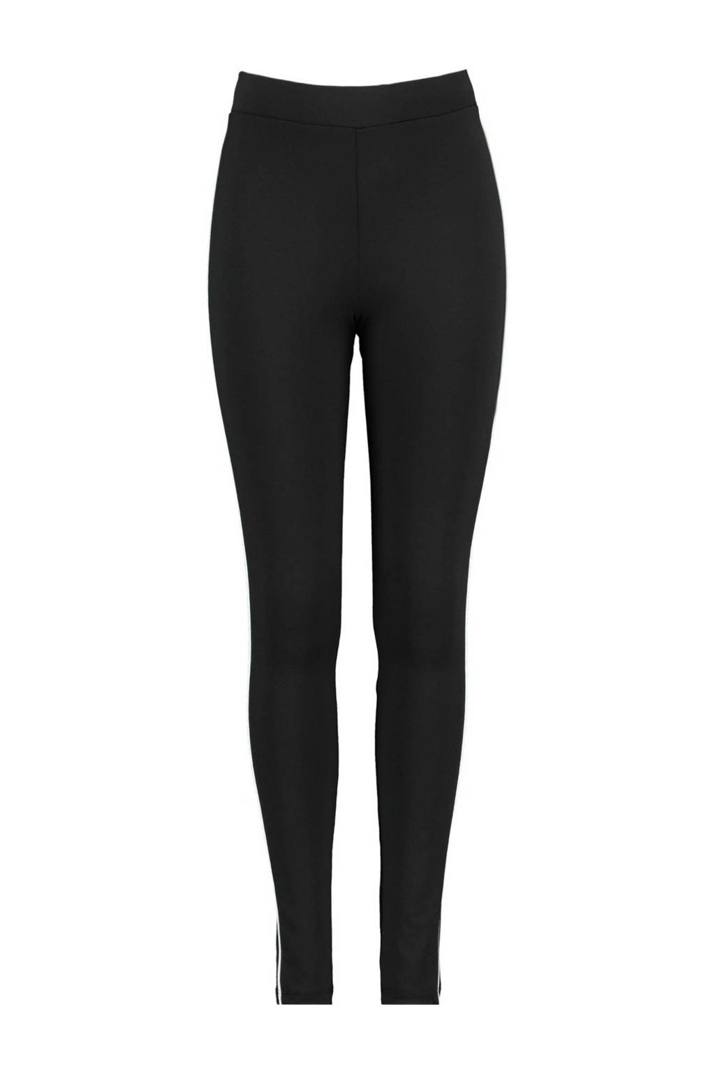CoolCat Junior legging Pelin zwart/wit, Zwart/wit