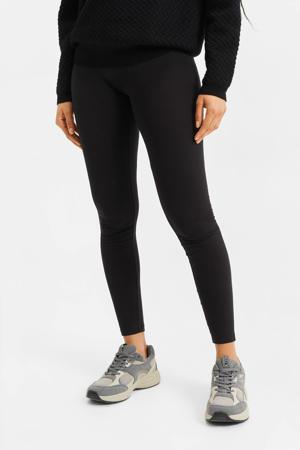 legging met biologisch katoen zwart