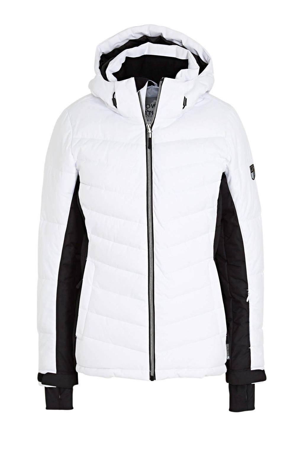 C&A ski-jack wit/zwart, Wit/zwart