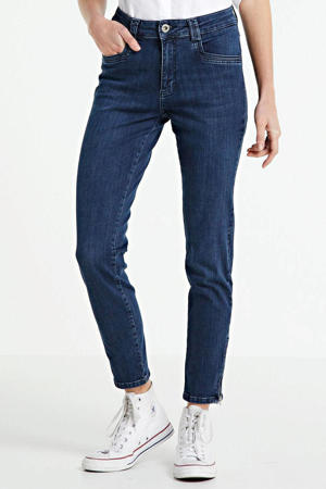 high waist skinny jeans Amber old blue