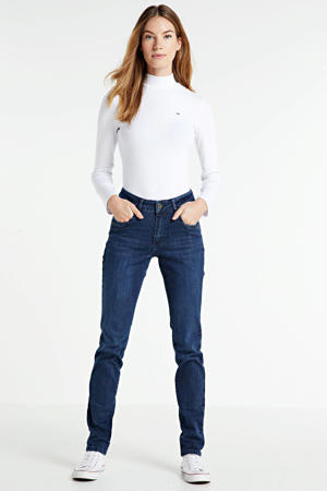 high waist skinny jeans Celine old blue