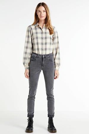 high waist super skinny jeans Jacky cloudly grey - l30