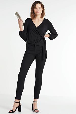 high waist super skinny jeans Jacky black