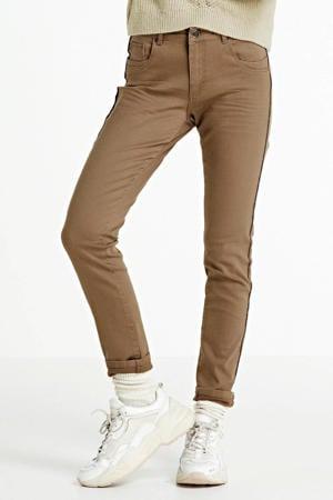 high waist super skinny jeans Nikita camel