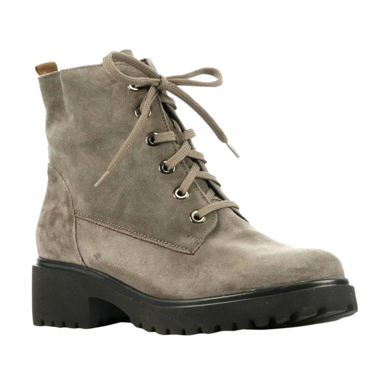 716801 suède veterboots taupe