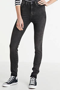 Yellow Blue Denim high waist skinny jeans black moon, Black moon