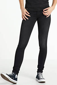 Yellow Blue Denim skinny jeans New Soph zwart, Zwart