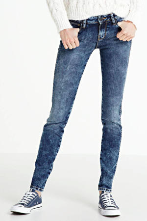 mid waist super skinny jeans Yuliya light blue