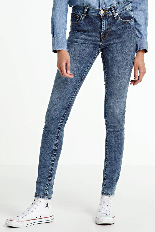 Yellow Blue Denim skinny jeans New Soph blue moon, Blue moon