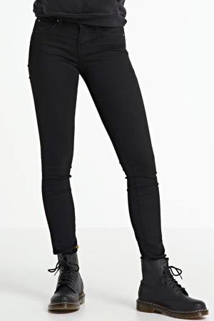 mid waist super skinny jeans Yuliya black