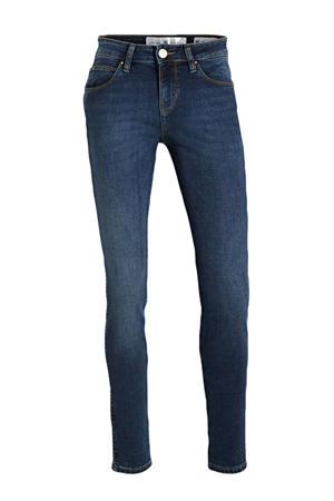 mid waist super skinny jeans Yuliya medium blue