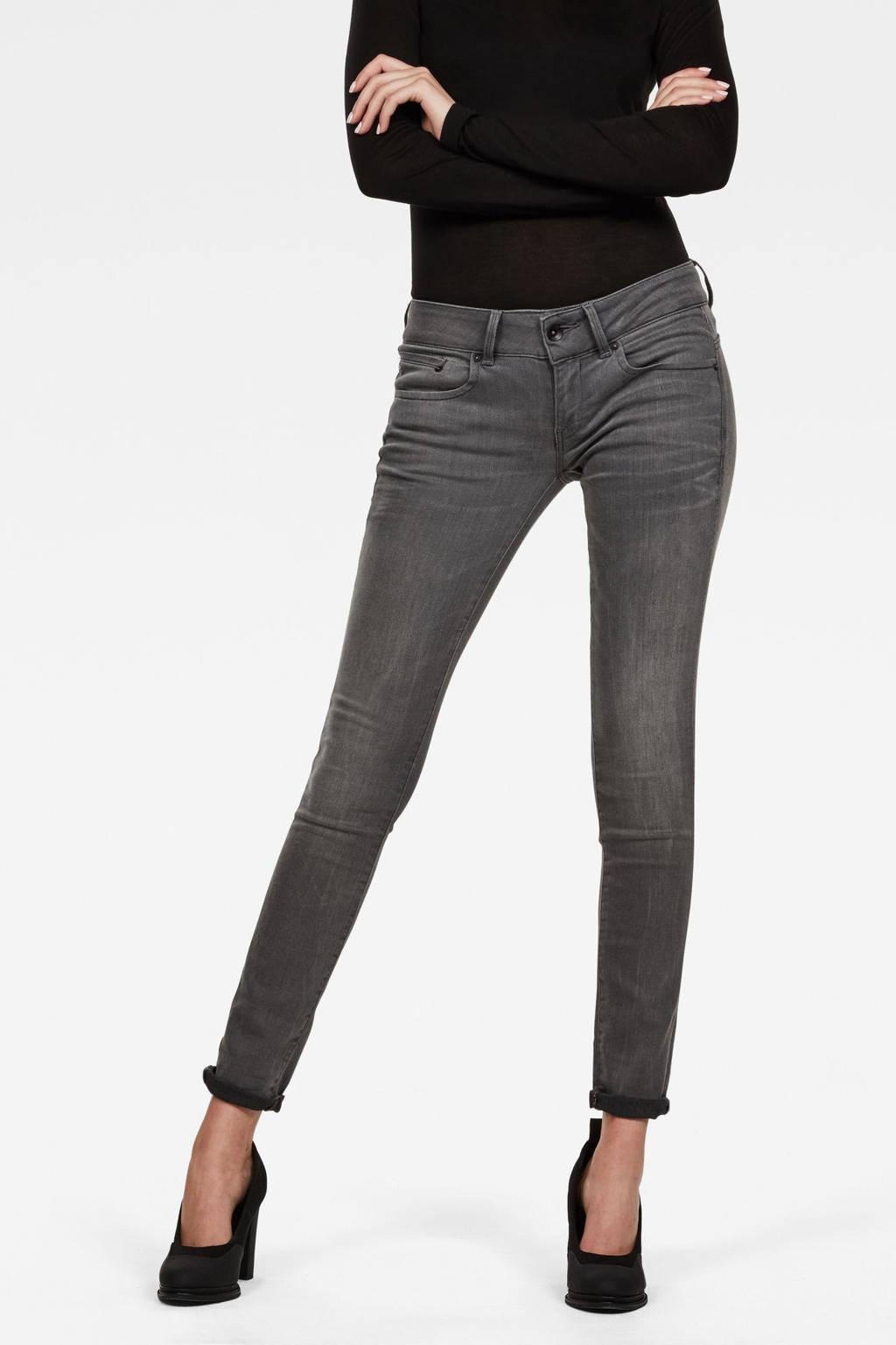 G-Star RAW Midge Cody Mid Skinny Wmn skinny jeans blauw, Blauw
