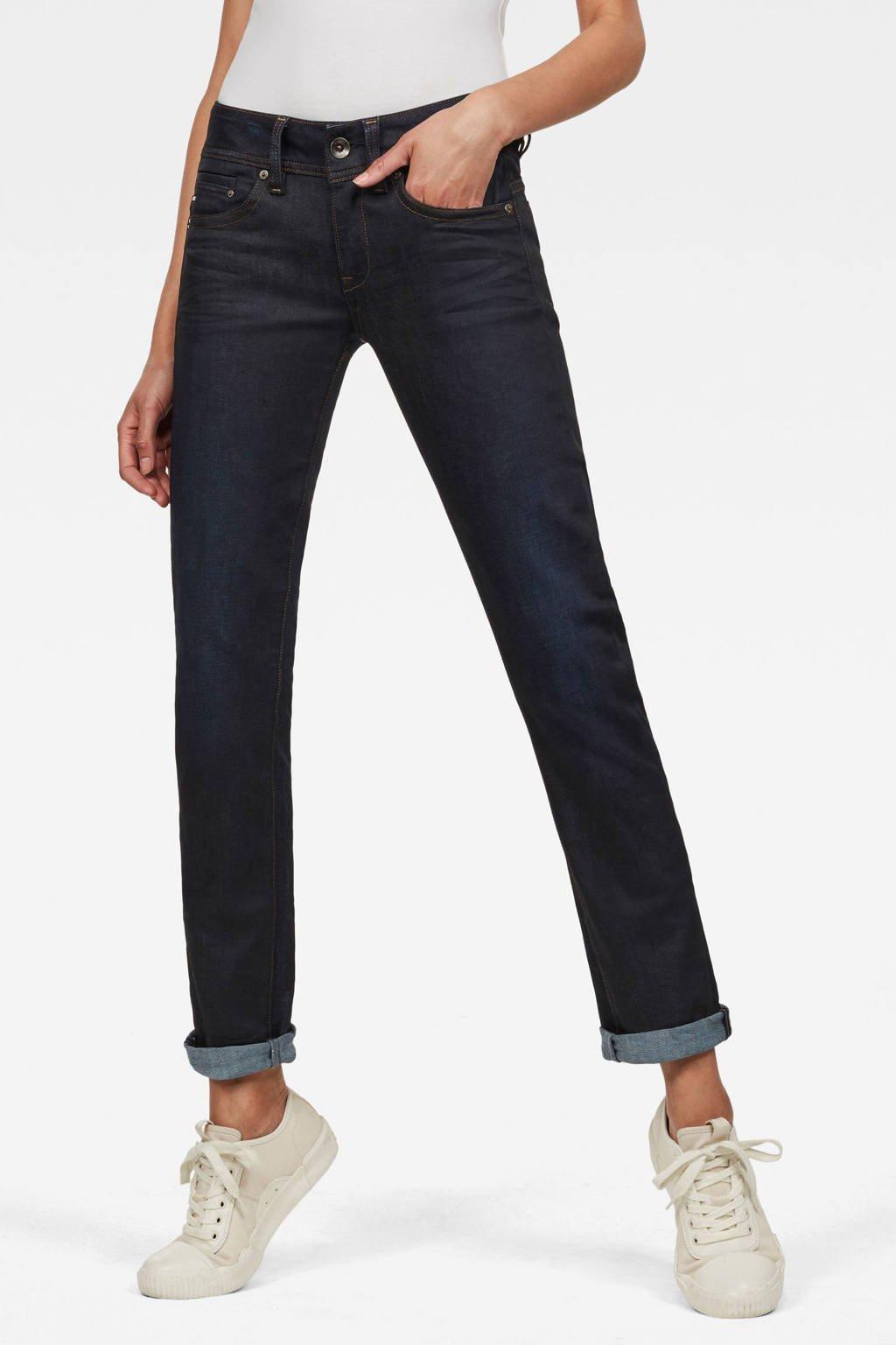 G-Star RAW Midge Saddle straight fit jeans dark aged, Dark aged