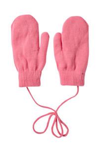 Sarlini gebreide handschoenen roze, Roze