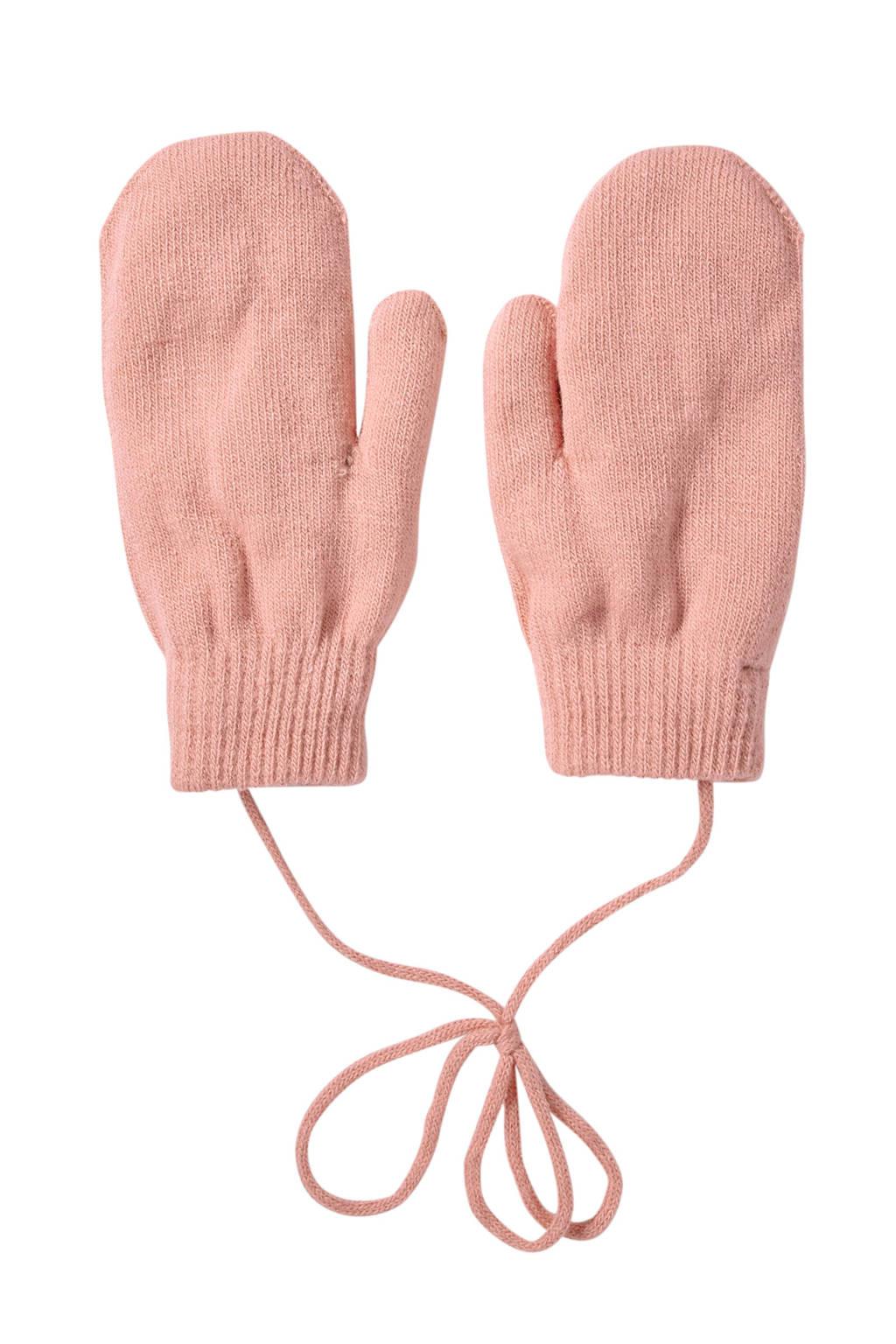 Sarlini gebreide handschoenen lichtroze, Light Pink
