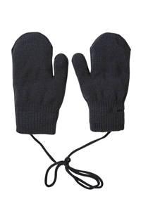 Sarlini gebreide handschoenen zwart, Zwart