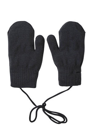 gebreide handschoenen zwart