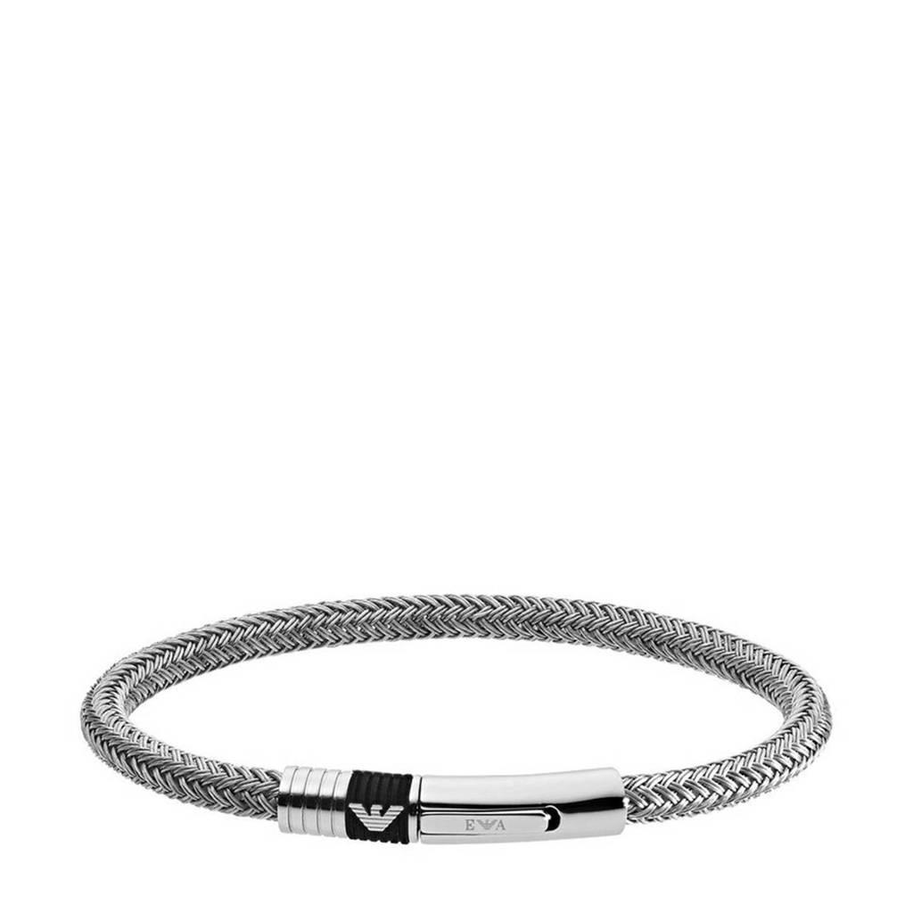 Emporio Armani armband EGS1623040 zilver, Zilver