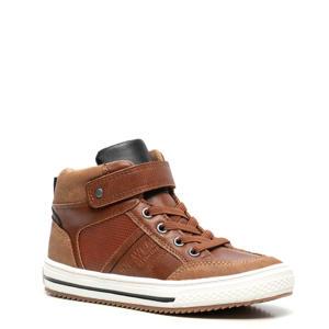 hoge sneakers cognac