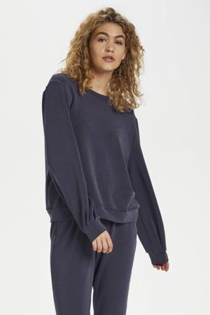 sweater navy blazer