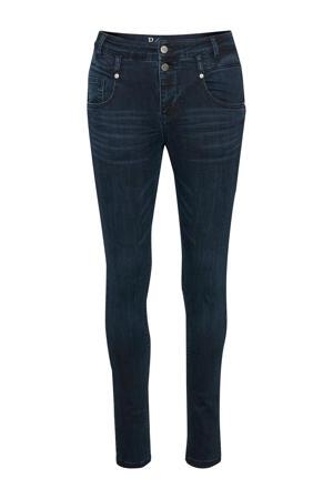 skinny jeans dark blue wash