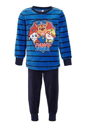 pyjama Paw Patrol donkerblauw/blauw