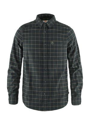 overhemd Övik Flannel donkergrijs