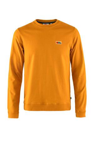 sweater Vardag donkergeel