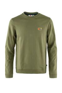 Fjällräven sweater Vardag groen, Groen