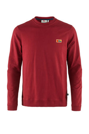 sweater Vardag donkerrood