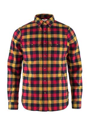 flanellen overhemd Skog rood/geel/blauw