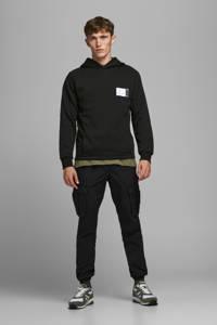JACK & JONES CORE hoodie Boss met printopdruk zwart, Zwart
