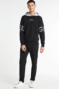 JACK & JONES CORE hoodie Victory met printopdruk zwart, Zwart