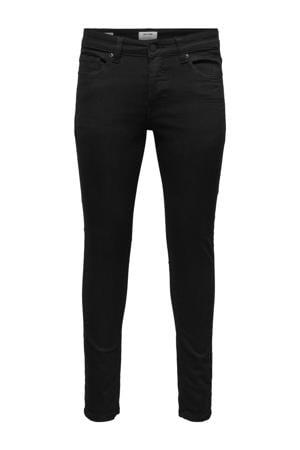 skinny jeans met biologisch katoen zwart