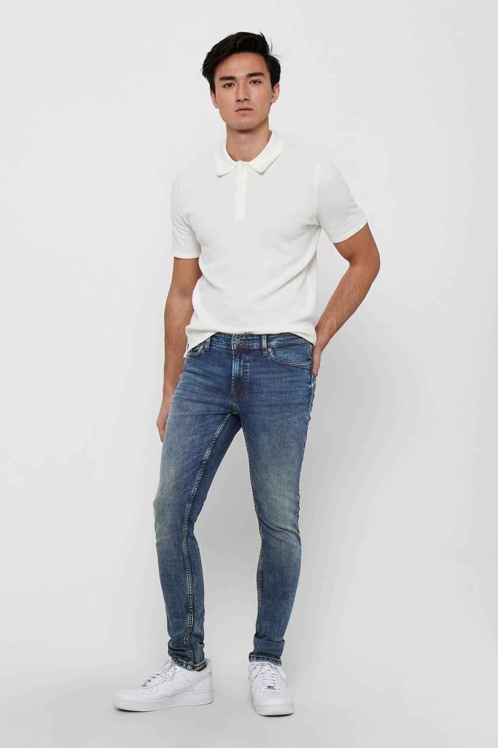 ONLY & SONS slim fit jeans Loom blue denim 8609, Blue Denim 8609