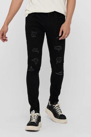 skinny jeans Warp LIFE zwart